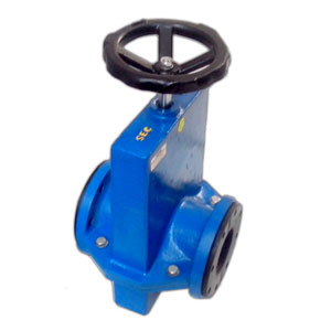 Full Covered Body Wheel Operated Pinch Valve
